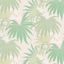 papel pintado Exotic Palm verde seto PTW