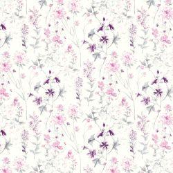 papel pintado Wild Meadow iris pálido PTW