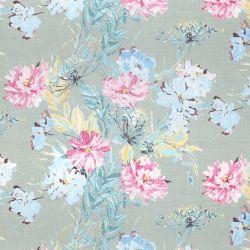 tela de flores de colores ideal para cortinas y estores de diseño