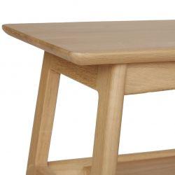 mesa baja para televisión en roble de diseño