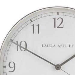 reloj de pared redondo cromado