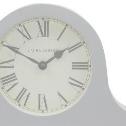 reloj de sobremesa redondeado en color gris claro