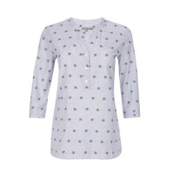 blusa con abejitas bordadas de diseño