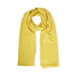 pañuelo pashmina amarillo de diseño