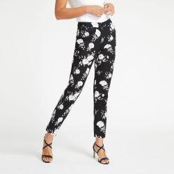 pantalones Floral Cotton