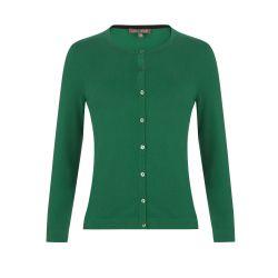 chaqueta verde de algodón súper suave