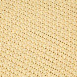 manta de algodón amarilla de diseño para camas de revista