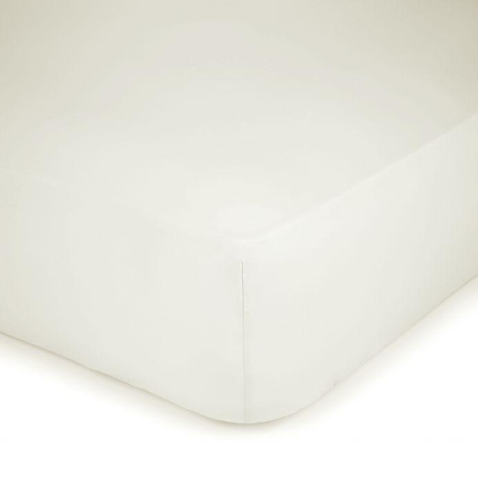 sábana bajera crema 400 hilos colchón alto
