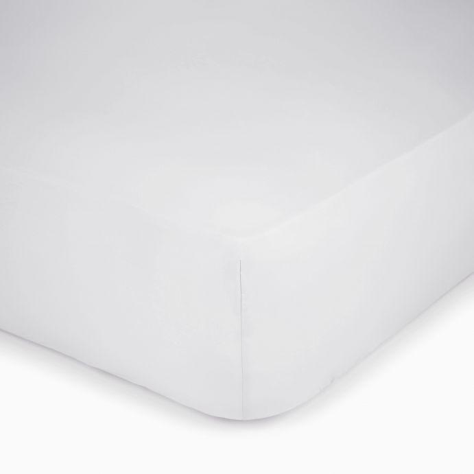 sábana bajera gris plata 600 hilos colchón alto