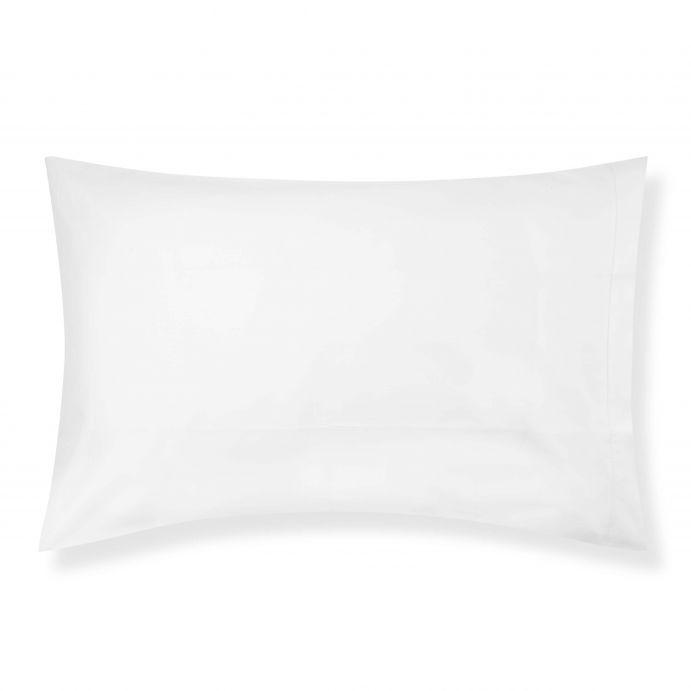2 fundas de almohada blanco 600 hilos
