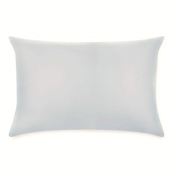 2 fundas de almohada gris plata 600 hilos