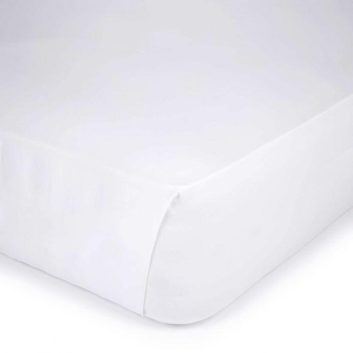 sábana encimera blanca 400 hilos