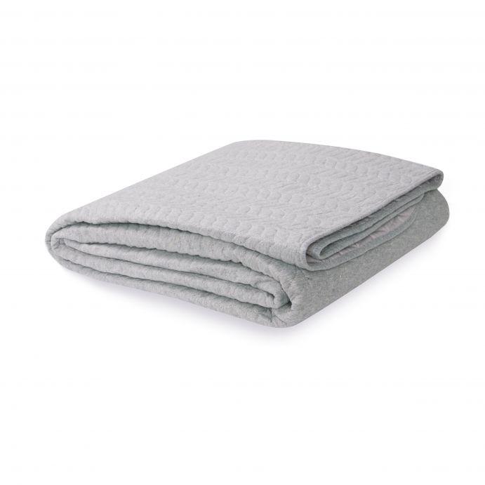 colcha plisada gris oscuro de diseño para camas bonitas