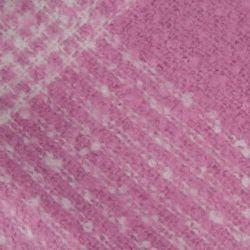 manta súper suave de diseño clásico de cuadros en moderno rosa fucsia de diseño