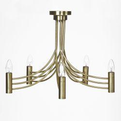 lámpara de techo Keva bronce envejecido