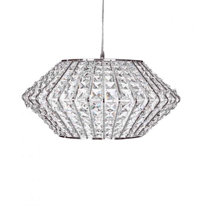 lámpara de techo en cristal de diseño