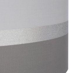pantalla textil de bandas en color gris de diseño