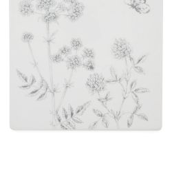 protector cerámico de encimera con flores estampadas