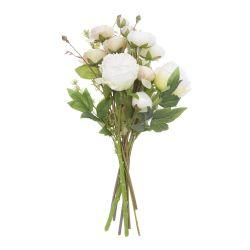 ramo de flores artificiales de diseño peonías para regalar