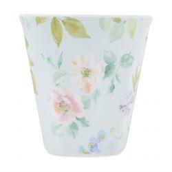 vasos de melamina color pastel de diseño ideal picnics