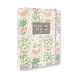 diario para jardín de diseño con flores y plantas