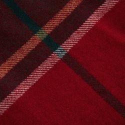 manta de cuadros rojos de diseño