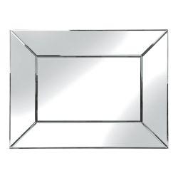 espejo rectangular de diseño Gatsby biselado