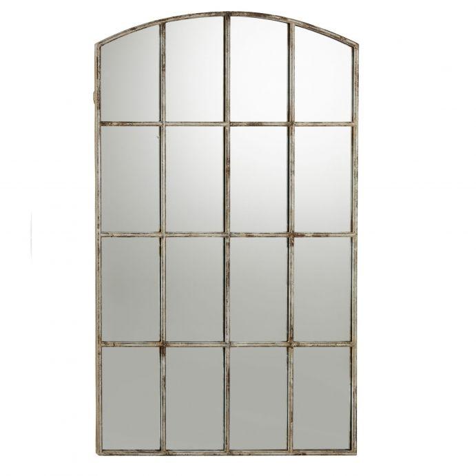 espejo de pared tipo ventana de gran tamaño de diseño