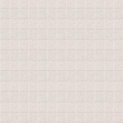 cabecero tapizado en tejido de cuadros gris plata en capitoné abotonado diseño diamante