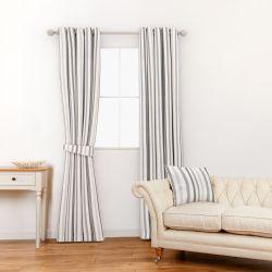 tela para cortinas y estores en rayas de colores naturales