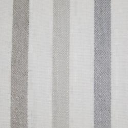 cojín de rayas gris y blanco de diseño