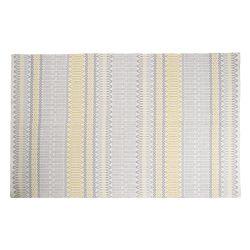 alfombra Editions Geo rayas amarillo 120 x180