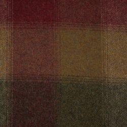 manta de lana de cuadros de diseño clásico en colores rojos, verdes y marrones