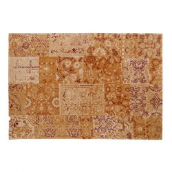 alfombra Laurent dorado 140x200