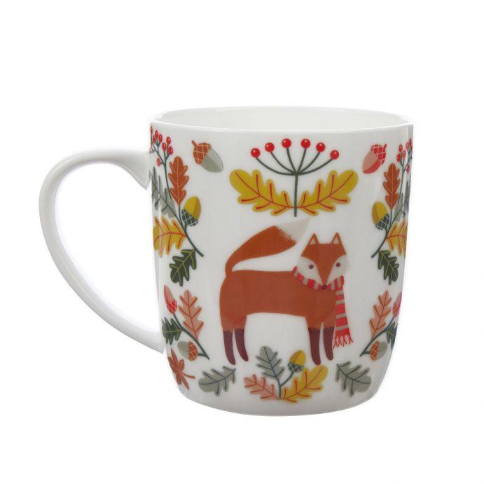taza Woodland Fox