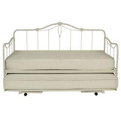 cama nido Emily marfil con colchón sencillo