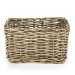 cesta de fibra natural de tamaño ideal para el baño