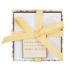 taco de notas de papel en caja estampada en dorado con leopardo