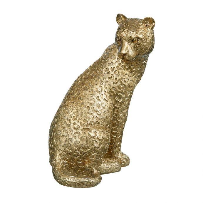 figura Leopard dorado