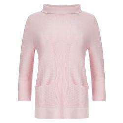 Jersey Bardot rosa camelia