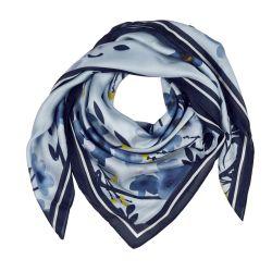 Pañuelo en tonos azules