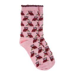 Calcetines de búho esponjosos