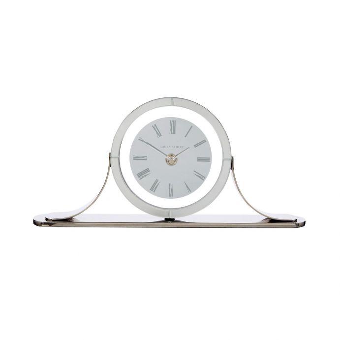 Reloj de espejo y aluminio