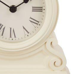 Reloj de sobremesa color crema
