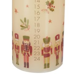 vela calendario de Adviento Nutcracker