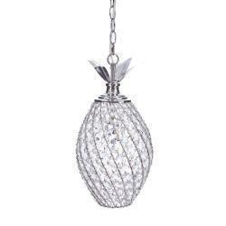 lámpara piña de cristal para techo