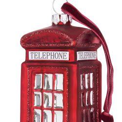 decoración Phone Box Navidad