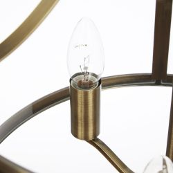 Colgante harrington bronce envejecido x3
