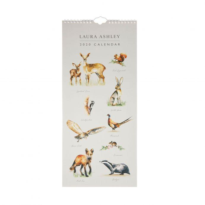 Calendario 2020 Woodland Animals
