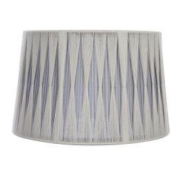 Pantalla plisada recogida gris  suave/carbón